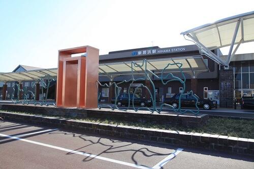 JR新居浜駅前W500